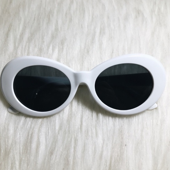 3c75b9d382 Urban Outfitters Accessories - NWOT Kurt Cobain Clout Sunglasses goggles  White